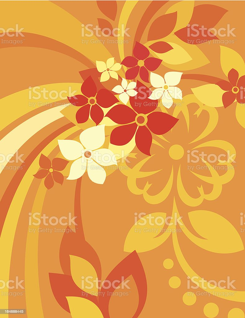 Floral Background Series royalty-free floral background series stock vector art & more images of angle