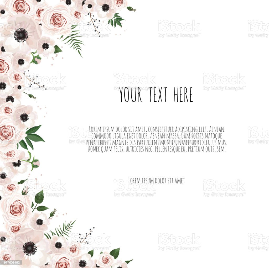 floral background spring background with beautiful flowers stock