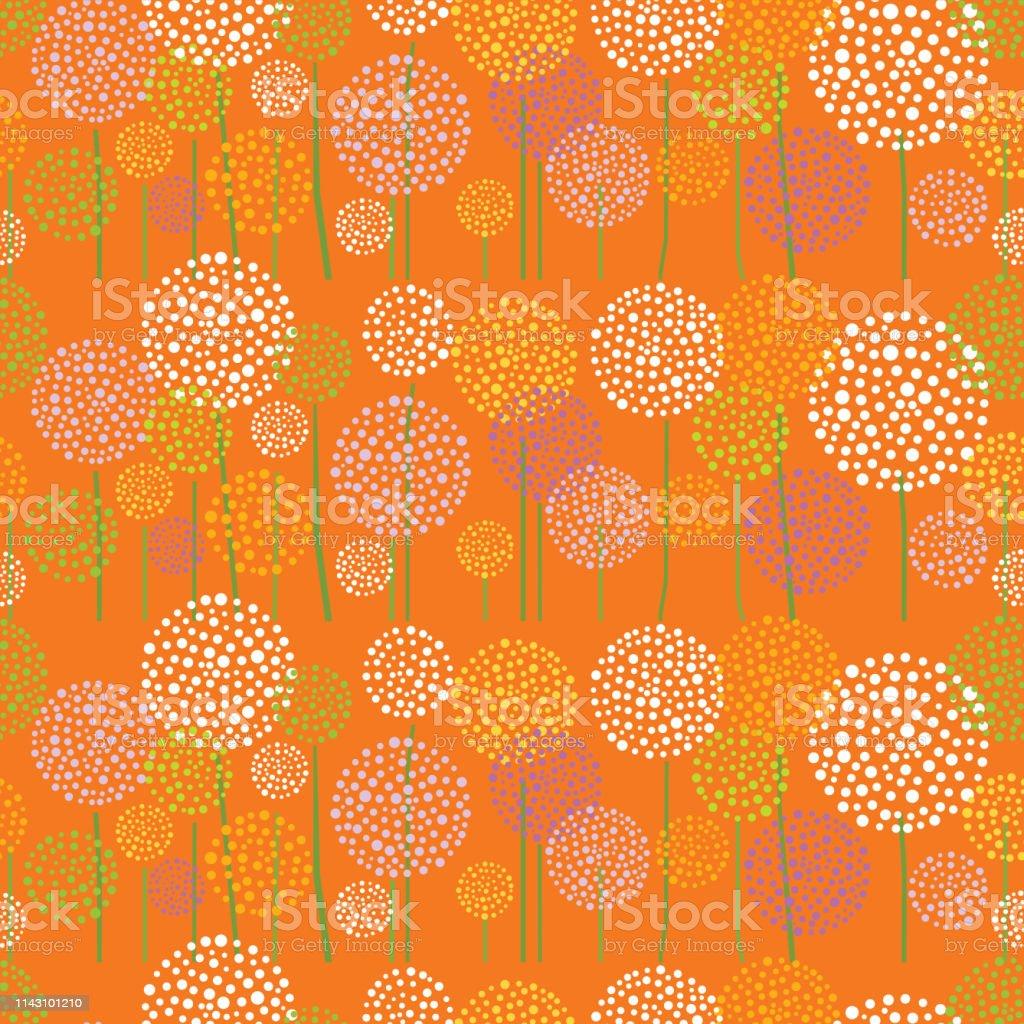 Floral Background. Summer. vector art illustration