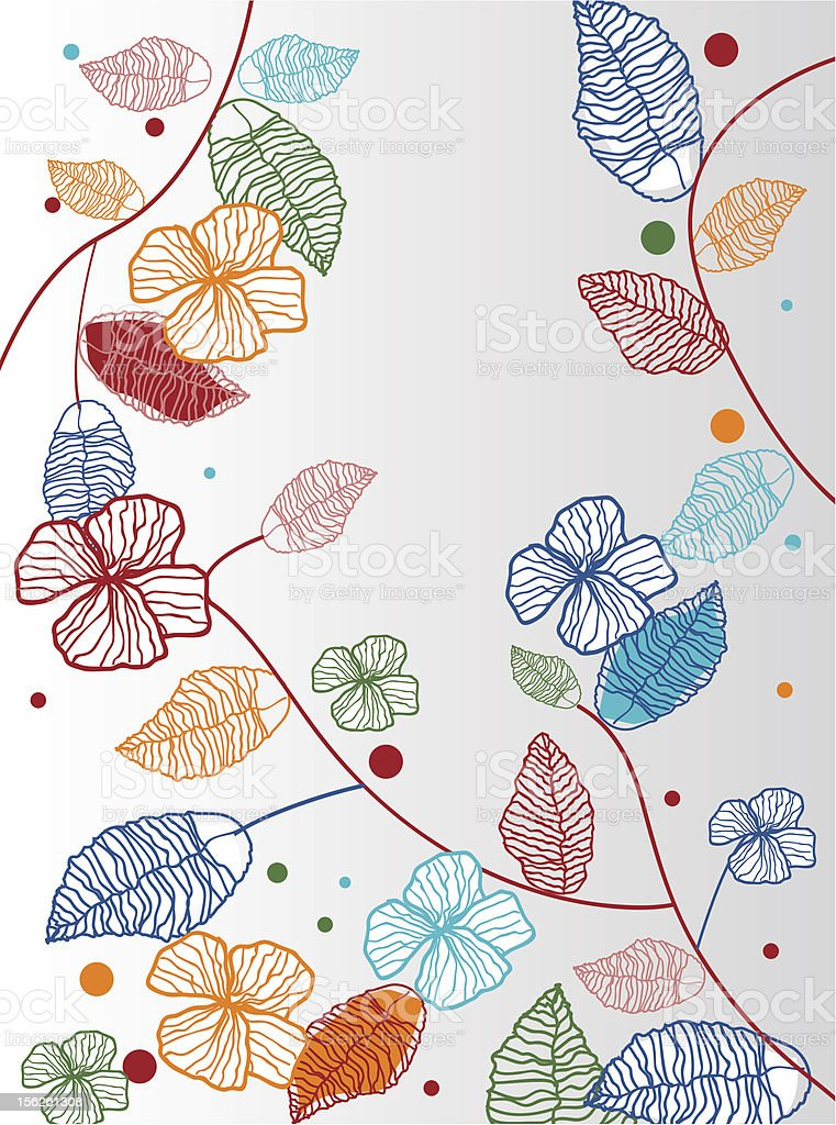 Floral background royalty-free stock vector art