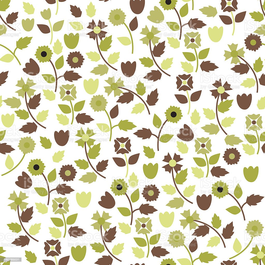 Floral Background Stock Vector Art More Images Of Abstract
