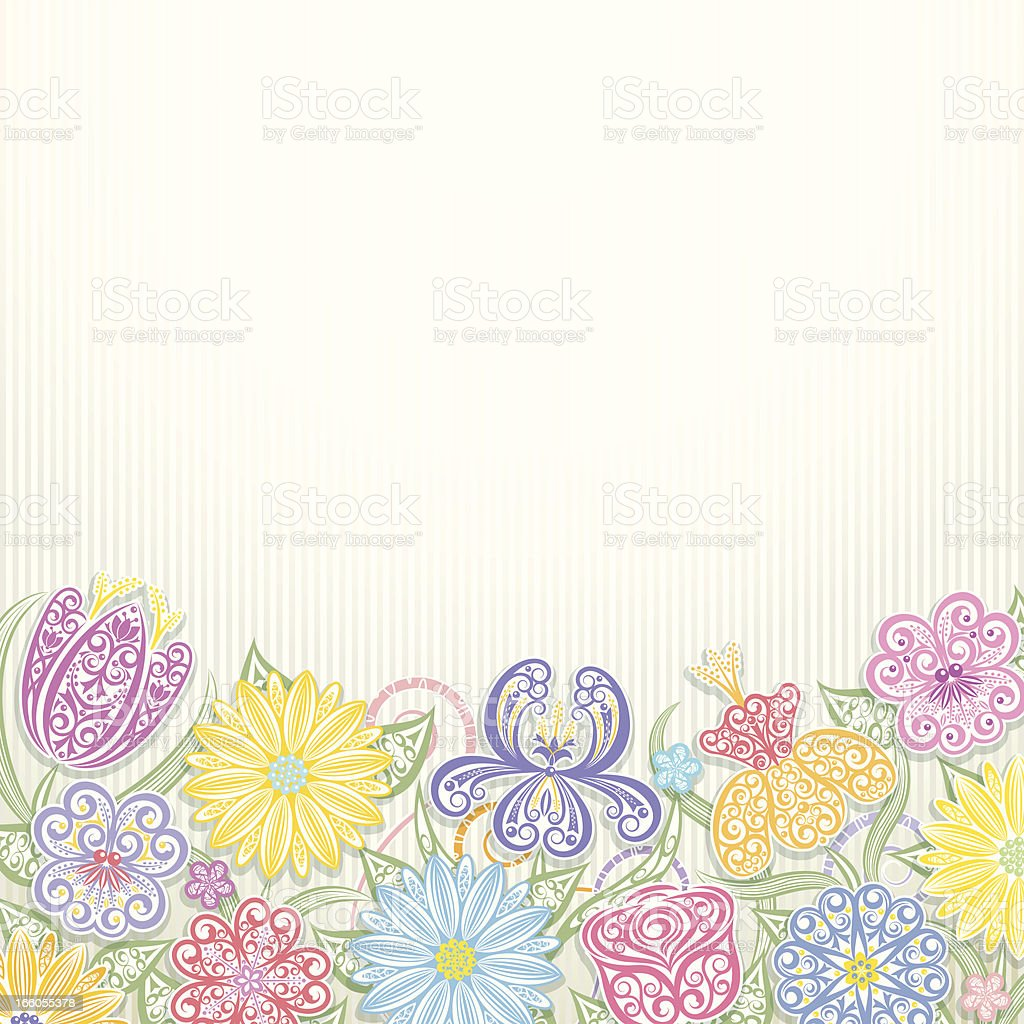 Floral Background royalty-free floral background stock vector art & more images of beauty in nature