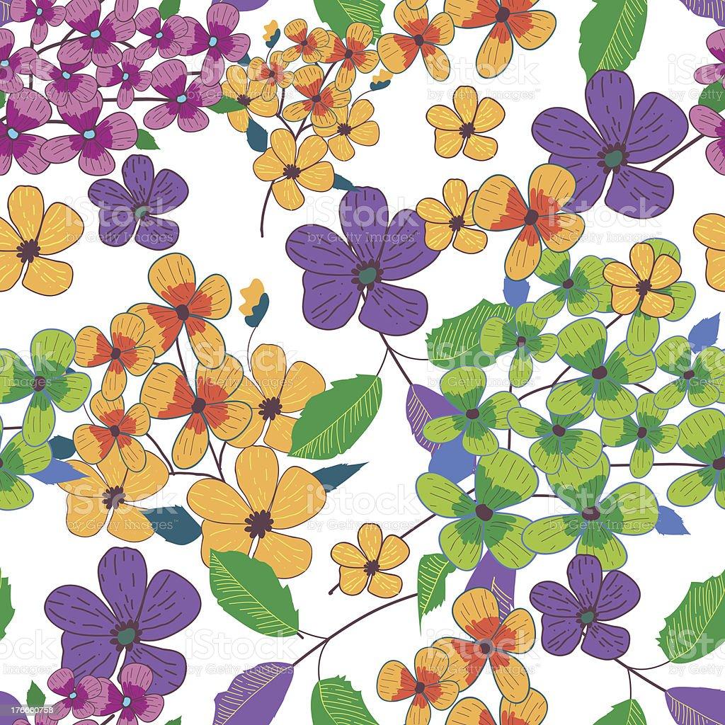Fondo Floral ilustración de fondo floral y más banco de imágenes de a la moda libre de derechos