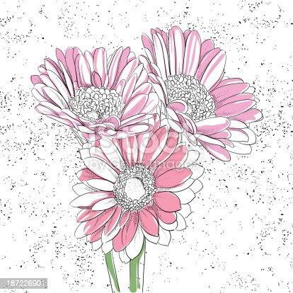 istock Floral background 187226901
