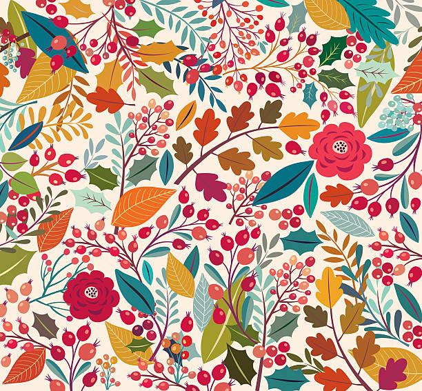 Fond Floral - Illustration vectorielle
