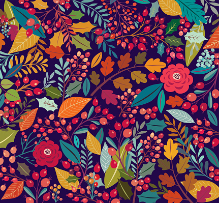 Floral and decorative backgrounds