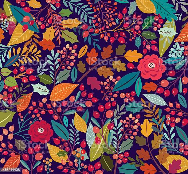 Floral Background Stock Illustration - Download Image Now