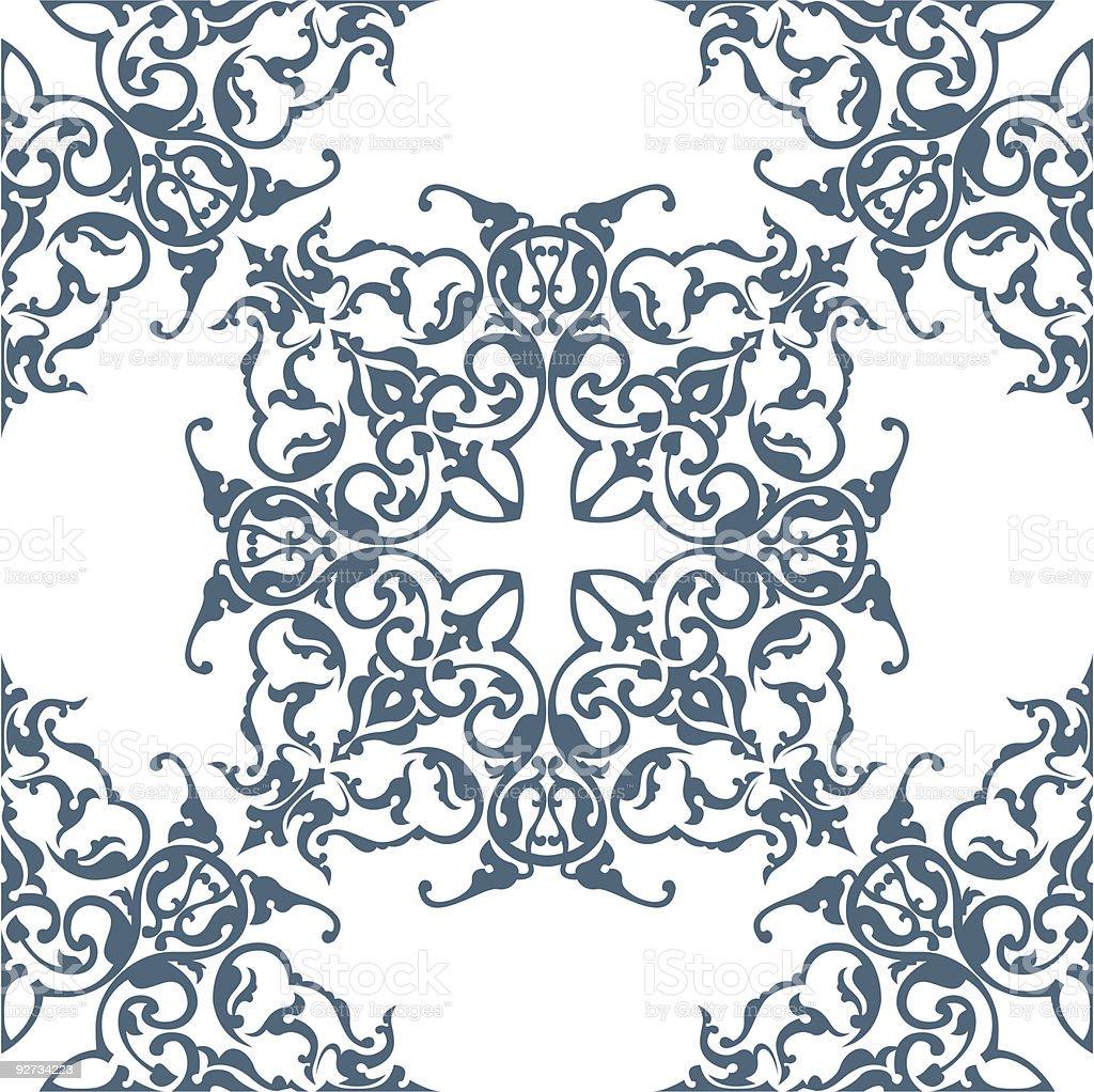 Floral Hintergrund Lizenzfreies floral hintergrund stock vektor art und mehr bilder von abstrakt