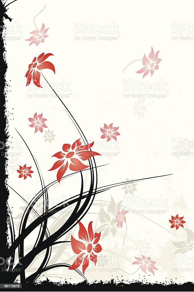 Sfondo floreale sfondo floreale - immagini vettoriali stock e altre immagini di astratto royalty-free