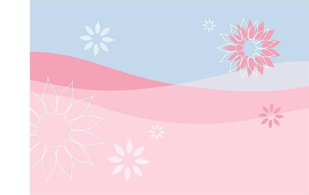Floral Hintergrund-Vektor – Vektorgrafik
