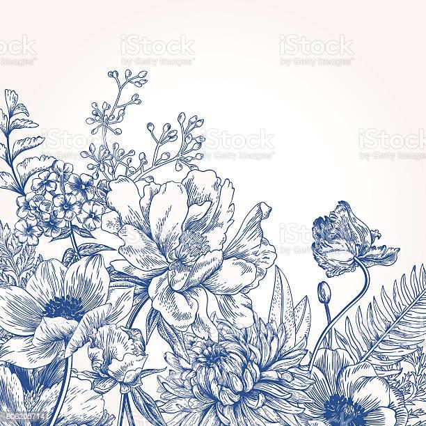 Floral background with flowers vector id606205714?b=1&k=6&m=606205714&s=612x612&h=ju05a3o0gx4gxk3vfaiy6udz uayz 6bhtavmlulnjc=
