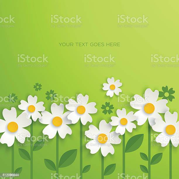 Floral background with paper flowers vector id512096644?b=1&k=6&m=512096644&s=612x612&h=bku2gcjd1zp87uci2wgx65abktwxepact5sv9lxjuwg=