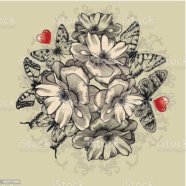 Floral background with roses red hearts and butterflies vector vector id452372669?b=1&k=6&m=452372669&s=612x612&h=bejmkpri2bexds6kwb9ax9dg8reaasmgb4ilqjbgyew=