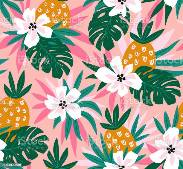 Floral background with tropical hawaiian flowers leaves and vector vector id1064909358?b=1&k=6&m=1064909358&s=612x612&h=iui 1qonezv 5kmakgdccetmqqzzpv97wkd21z6t3tm=