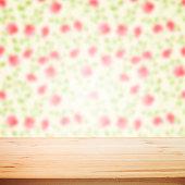 Floral blured background.