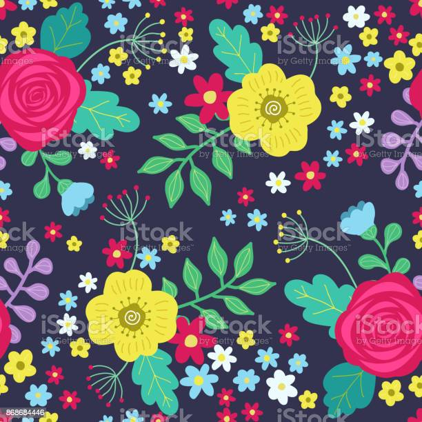 Floral colorful seamless pattern with red and yellow roses and blue vector id868684446?b=1&k=6&m=868684446&s=612x612&h=avgxw3mp341e fmaktymtkflpfxv8e7v4bpsf awpqs=
