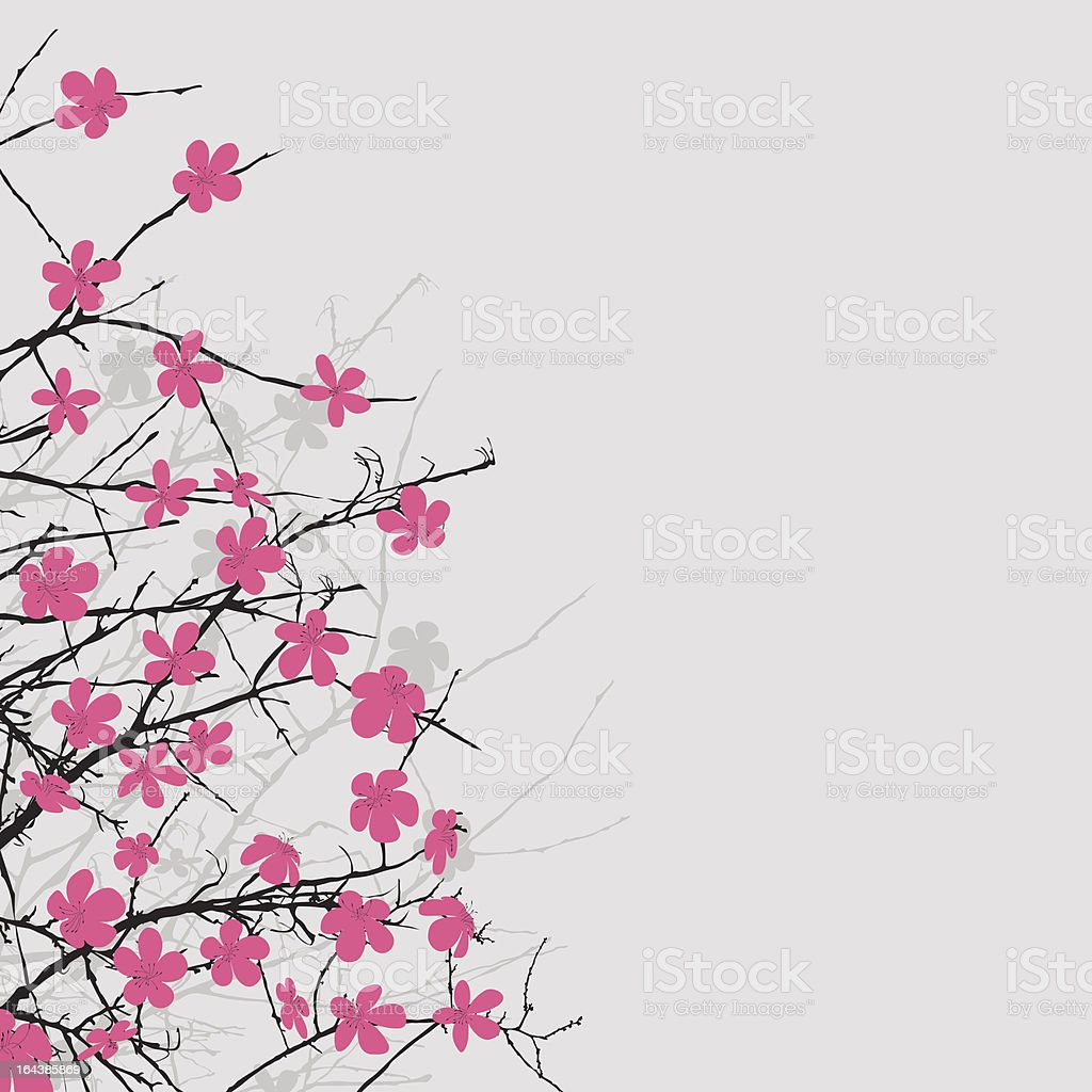 Floral composition royalty-free stock vector art