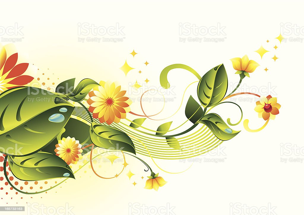Floral curl royalty-free floral curl stock vector art & more images of abstract