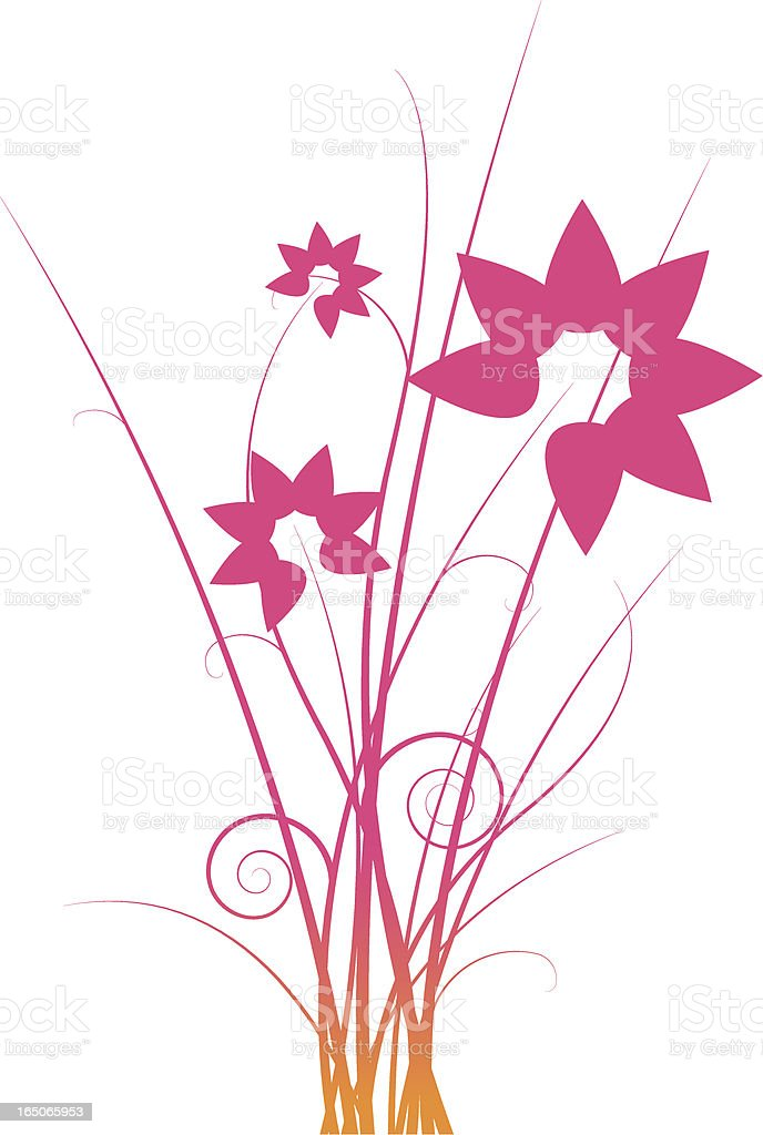 Floral deco royalty-free floral deco stock vector art & more images of beauty