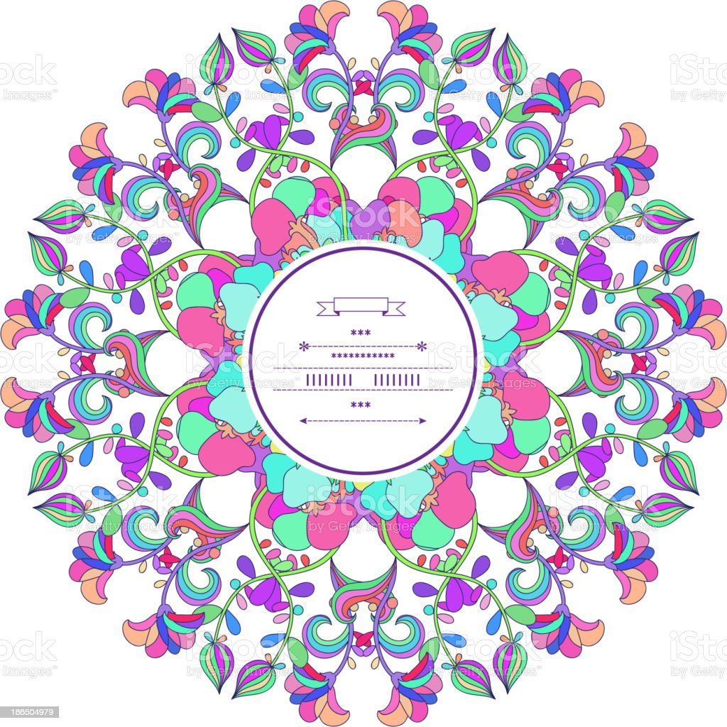 Floral decor royalty-free floral decor stock vector art & more images of abstract