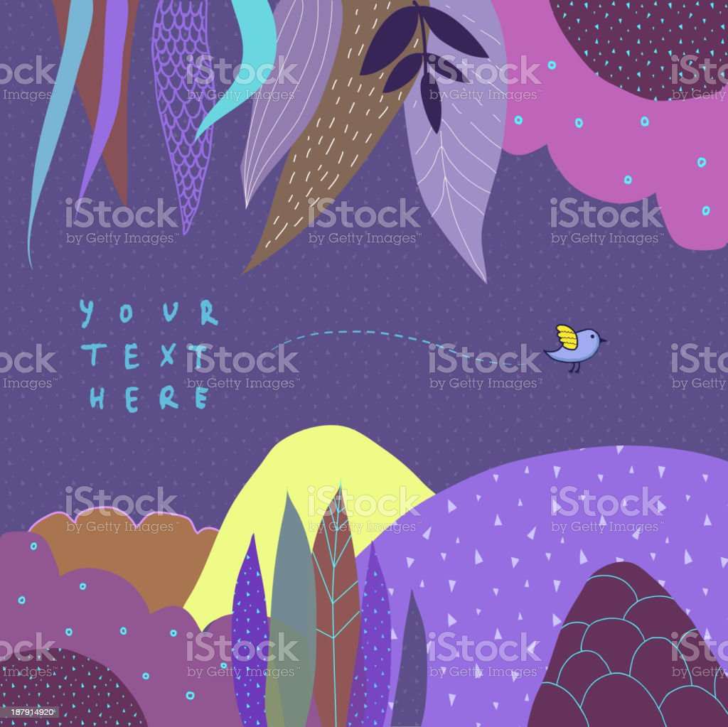 Floral decor royalty-free floral decor stock vector art & more images of backgrounds