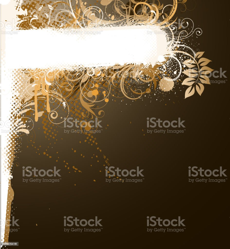 floral Decorative banner royalty-free floral decorative banner stock vector art & more images of abstract