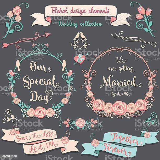 Floral design elements romantic vintage collection vector id590591136?b=1&k=6&m=590591136&s=612x612&h=linniw7crx oorvccrljglkf70eizdwu0czwrkym2gm=