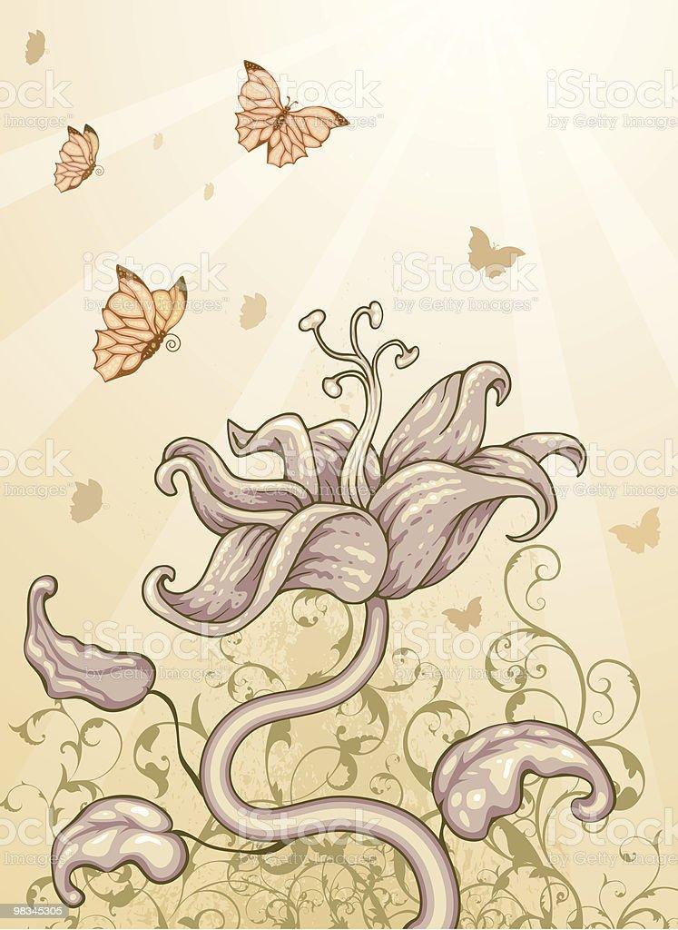 꽃무늬 디자인 royalty-free 꽃무늬 디자인 0명에 대한 스톡 벡터 아트 및 기타 이미지