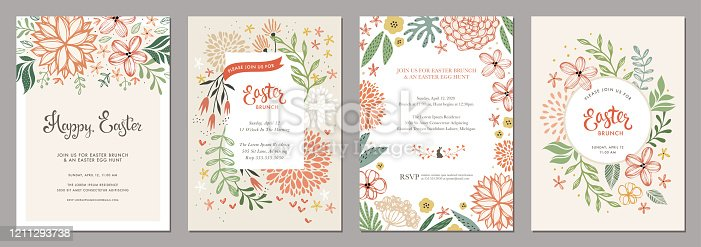 istock Floral Easter Templates_05 1211293738