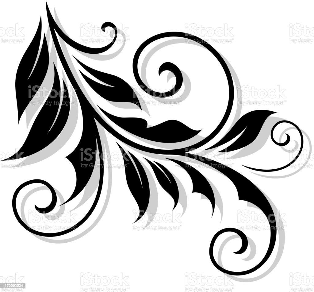 Floral embellishment royalty-free floral embellishment stock vector art & more images of embellishment