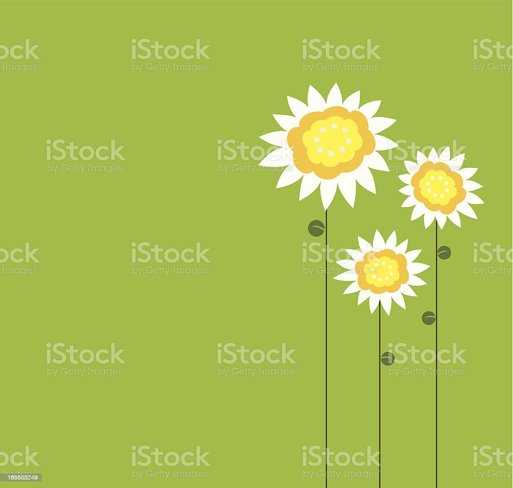 Floral family royalty-free stock vector art