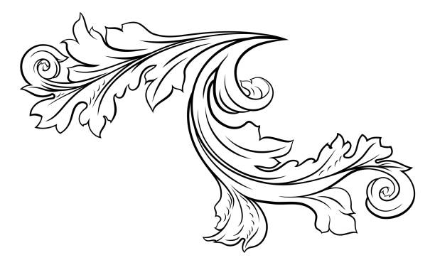 192 Clip Art Of A Filigree Tattoo Designs Illustrations Royalty Free Vector Graphics Clip Art Istock,Simple Corner Border Designs For Projects