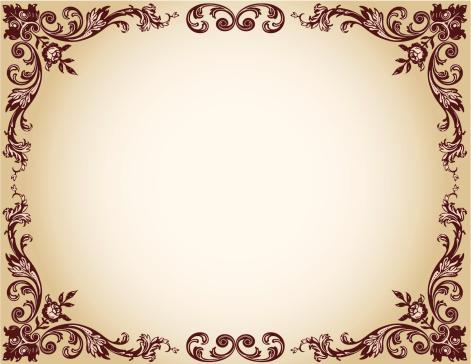 Floral Frame Stock Illustration - Download Image Now