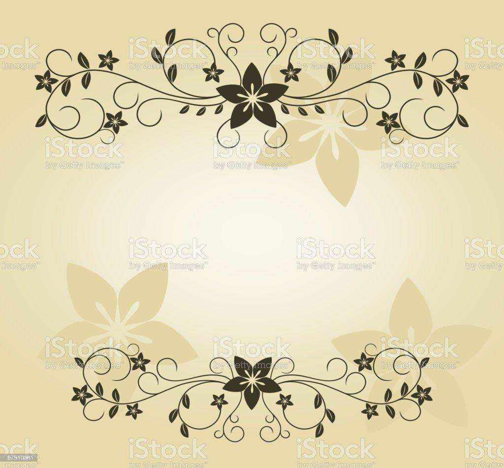 Floral frame royalty-free floral frame stock vector art & more images of backgrounds