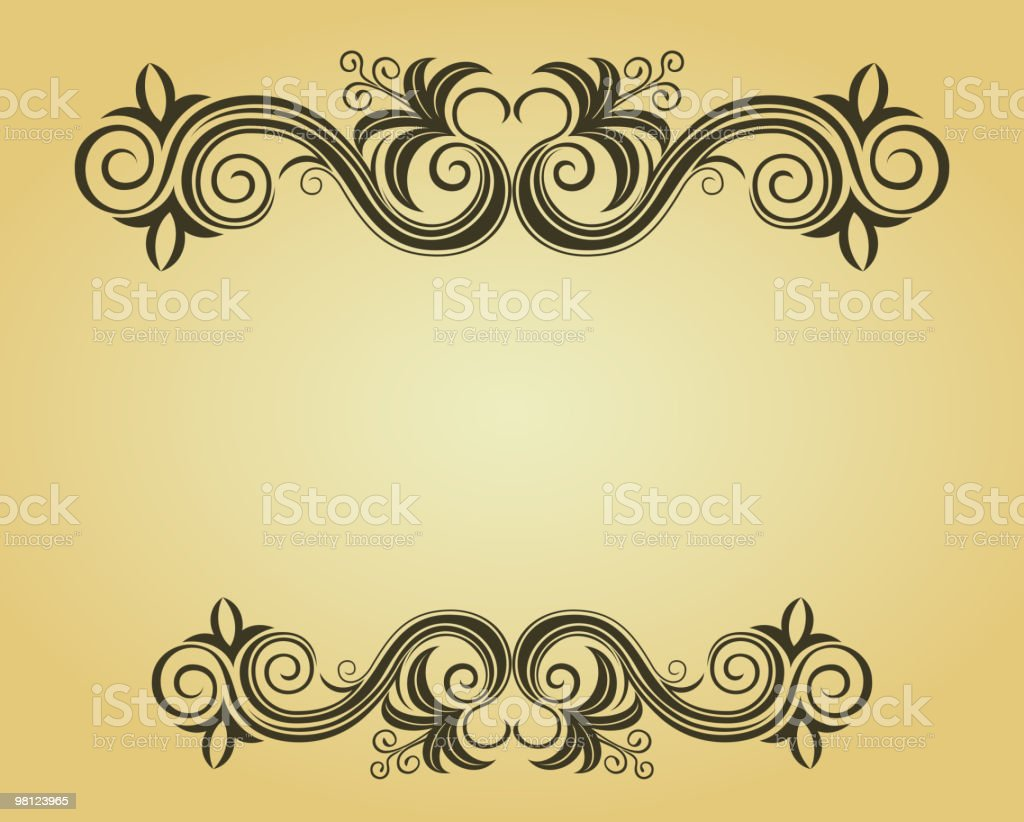 Floral frame royalty-free floral frame stock vector art & more images of backgrounds