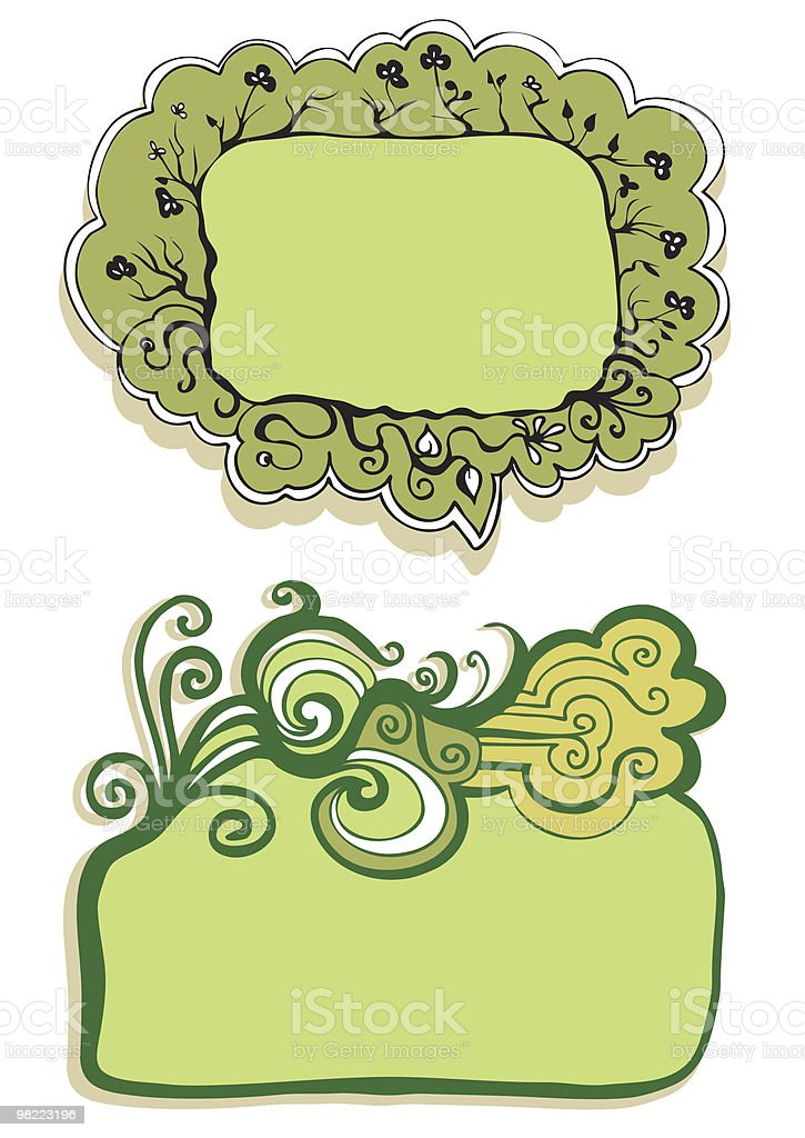 floral frame royalty-free floral frame stock vector art & more images of abstract