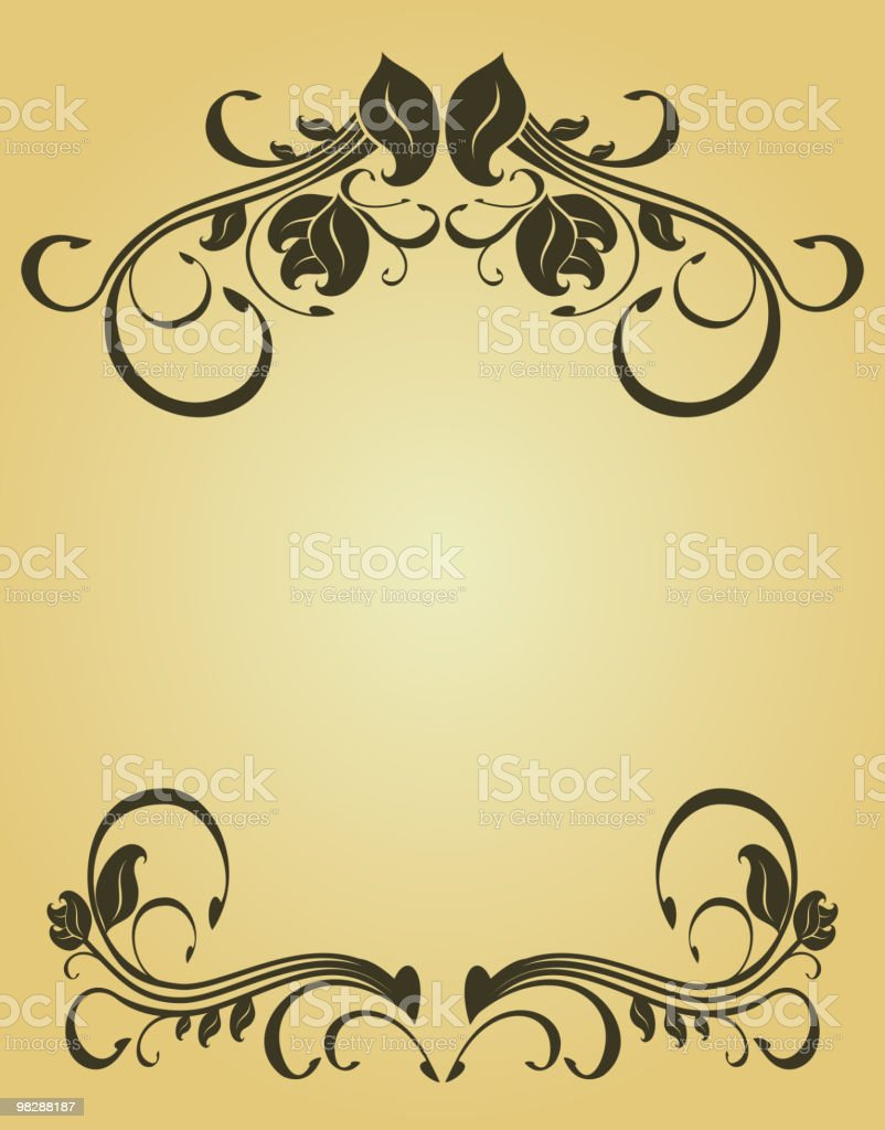 Cornice floreale cornice floreale - immagini vettoriali stock e altre immagini di cornice per foto royalty-free