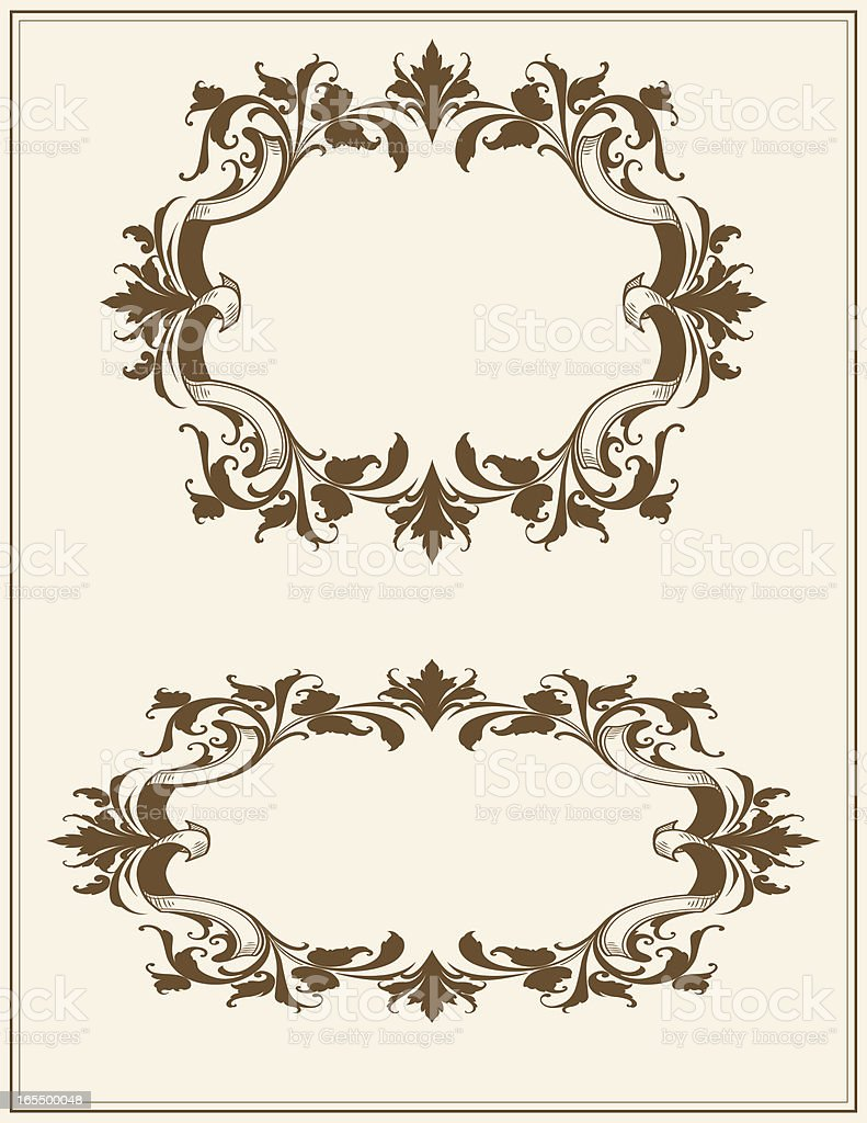 Floral Frames royalty-free floral frames stock vector art & more images of arabic style