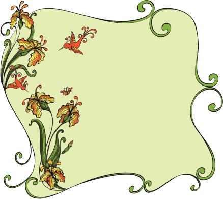 floral framework