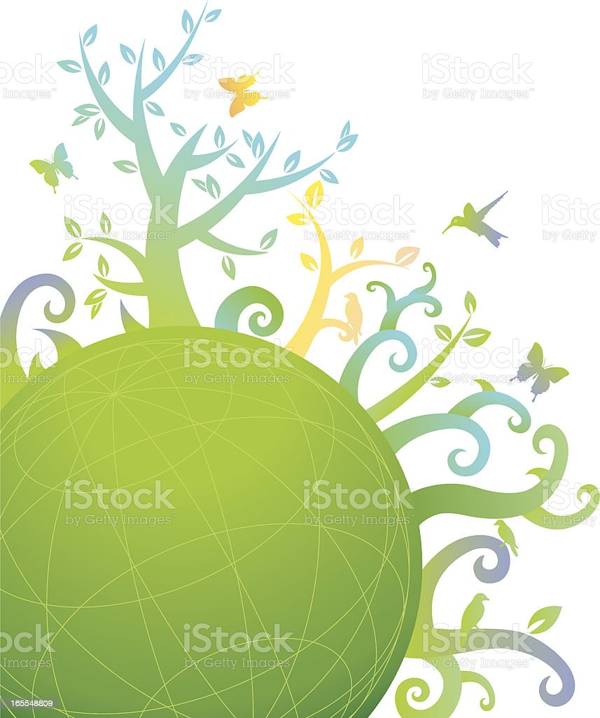 Floral Garden royalty-free floral garden stock vector art & more images of animal markings