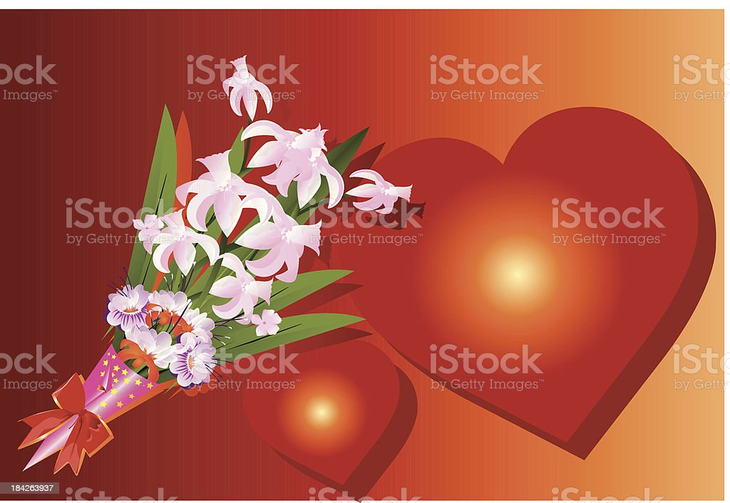 Floral gift royalty-free floral gift stock vector art & more images of backgrounds