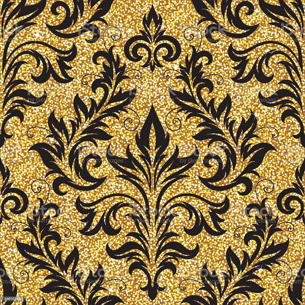 4cbc0397d6 Oro floreale carta da parati oro floreale carta da parati - immagini  vettoriali stock e altre