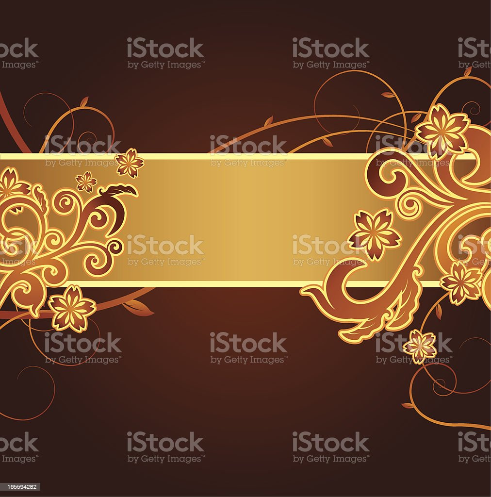 Floral Graphic royalty-free stock vector art