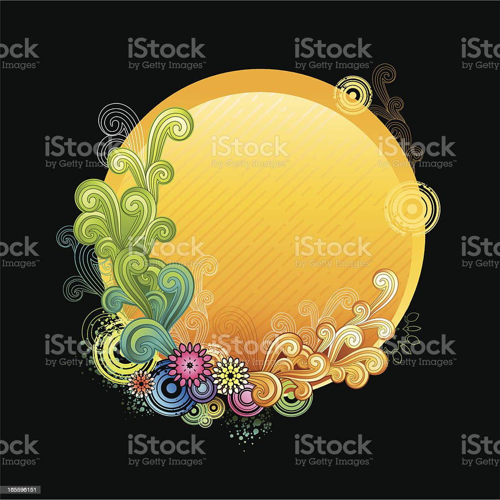 Gráficos florales ilustración de gráficos florales y más banco de imágenes de alegre libre de derechos