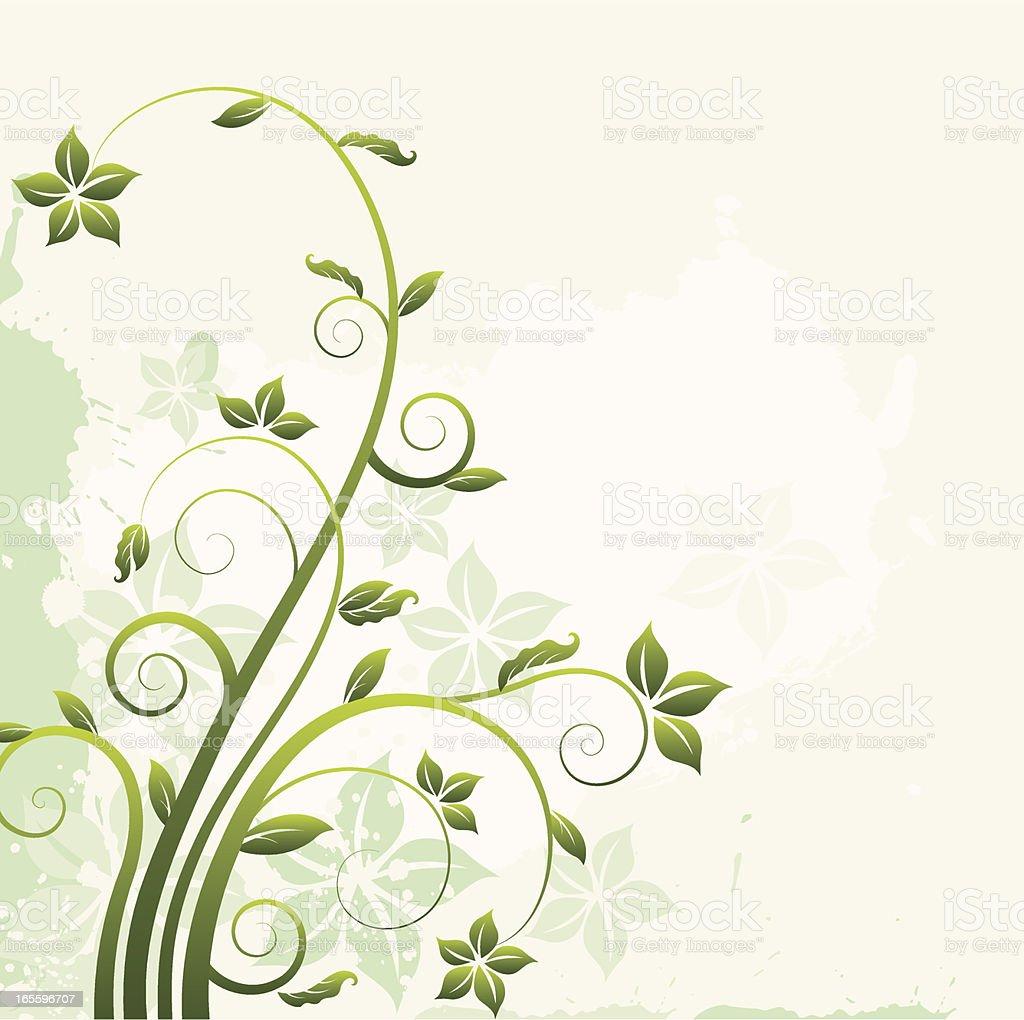 Gráficos florales ilustración de gráficos florales y más banco de imágenes de abstracto libre de derechos