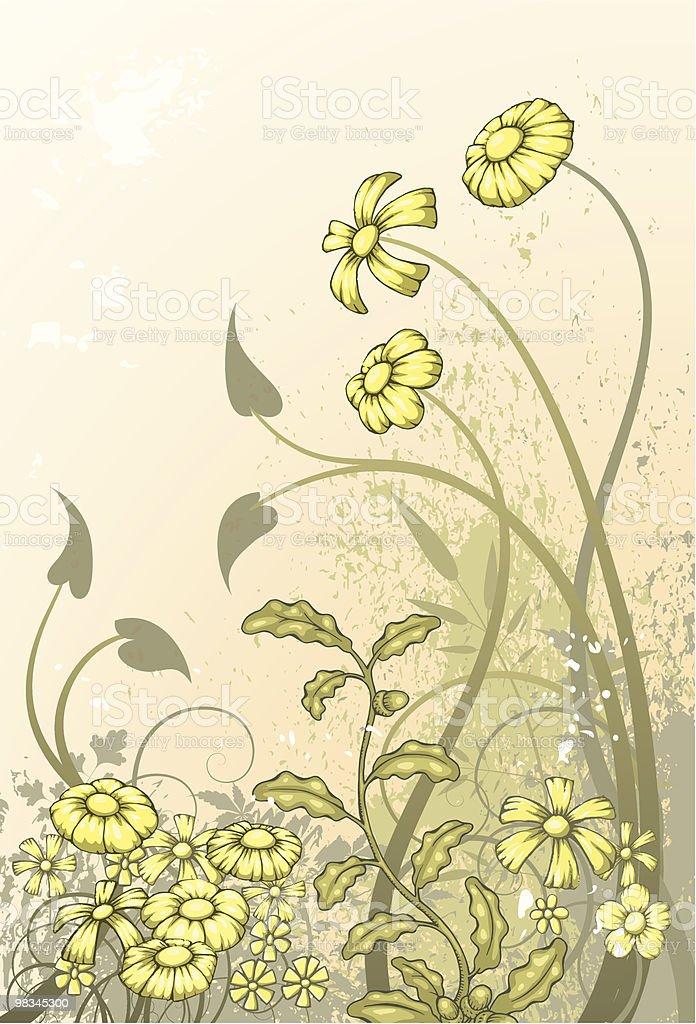 Floral grunge royalty-free floral grunge stock vector art & more images of color image