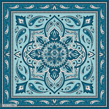 Free download of Bandana Pattern vector graphics and