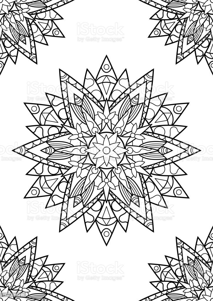 Flower Mandala Coloring Pages – coloring.rocks! | 1024x724