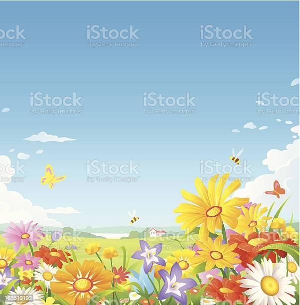 Floral meadow vector id163519192?b=1&k=6&m=163519192&s=612x612&h=4mwpobliv7dtynz3ddwp g 1h vw kc2cczntkxph9a=