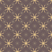 istock Floral minimalist pattern. Abstract geo background, vintage tiny silhouettes 1335982146